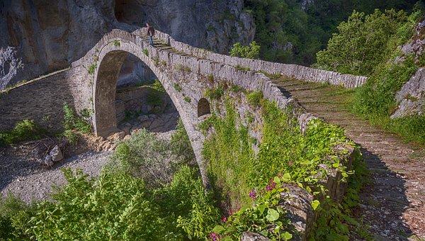 Bridge, Old, Stone, Architecture, Castle, Medieval