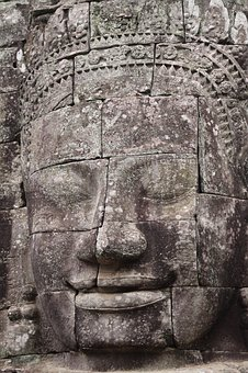 Bayon, Angkor, Temple, Buddha, Architecture, Ancient