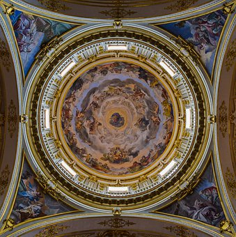 Dome, Architecture, Church, Building, Cathedral