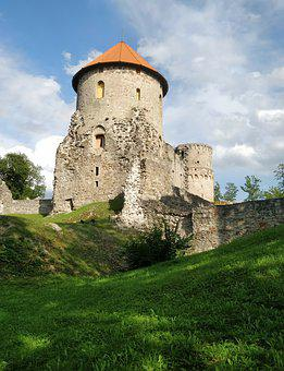 Castle, Tower, Middle Ages, Wall, Fortress, History