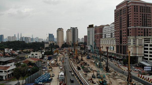 Kuala Lumpur, Jalan Ipoh, Road, Constructions
