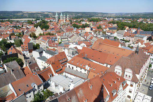 Naumburg, Dom, Saxony-anhalt, Outlook, View, Church