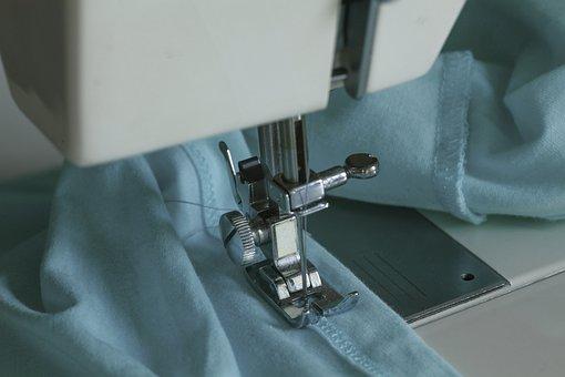 Sew, Hobby, Fabric, Sewing Machine, Needle, Leisure