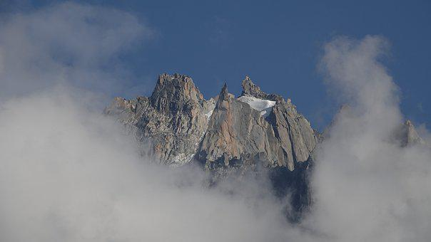 Points, Chamonix, Summer, France, Granite