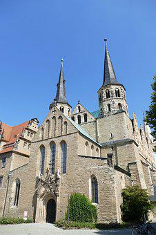 Merseburg, Saxony-anhalt, Historic Center, Historically