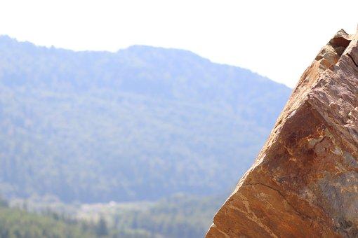 Rock, Stone, Mountain, High, Landscape, Nature, Beach