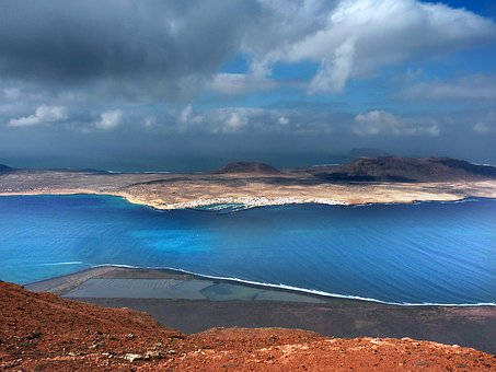 Island, Graciosa, Sea, Nature, Landscape, View, Coast