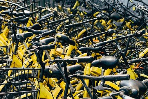 Bicycles, Lending, Rent, Cycling, City Bike