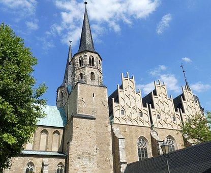 Merseburg, Saxony-anhalt, Historic Center, Historically