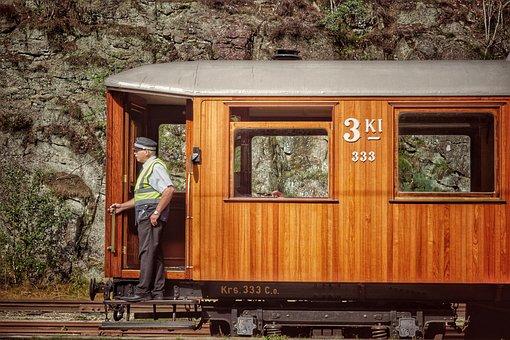 Railway, Historically, Nostalgia, Old, Travel