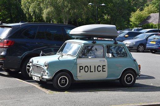 Old Police Car, Wales, Panda Car