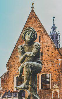 Sculpture, Art, Statue, Bronze, Krakow, Poland
