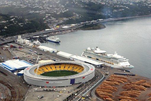 Wellington, Westpac, Stadium, Cake Tin, Cruise, Ship