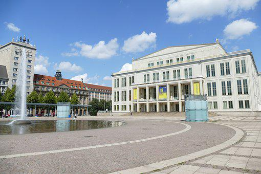Leipzig, Saxony, Architecture, City, Space