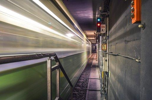 Tunnel, Metro, Subway, Transport, Underground