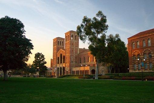 Ucla, Royce Hall, Westwood, University, Campus