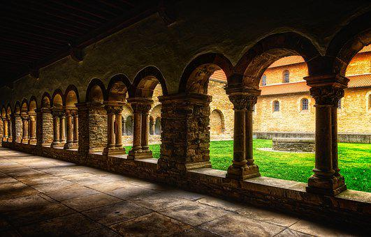 Monastery, Masonry, Middle Ages, Architecture, Mystical