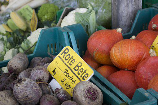 Pumpkin, Potatoes, Vegetables, Autumn, Agriculture