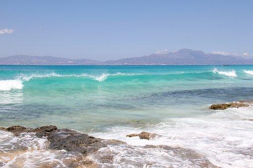 Chrissi Island, Crete, Beach, Holiday, Water, Turquoise