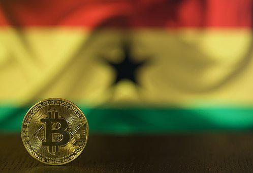 Flag, Bitcoin, Btc, Blockchain, Money, Cash, Investment