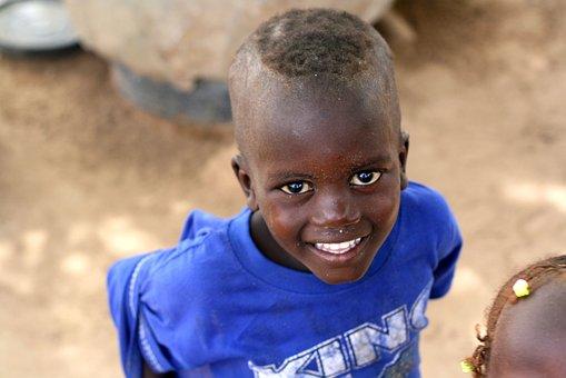 Child, Black, Portrait, Boy, Africa, Senegal, Young