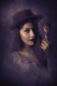 Portrait, Fantasy, Fantasy Portrait, Voodoo, Queen