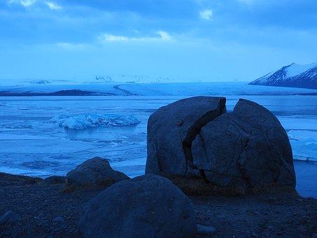 Glacier Lagoon, Ice Floes, Jökulsárlón, Glacial Lake