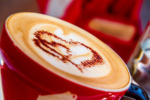 Coffee, Cup, Drink, Coffee Cup, Milchschaum, Heart