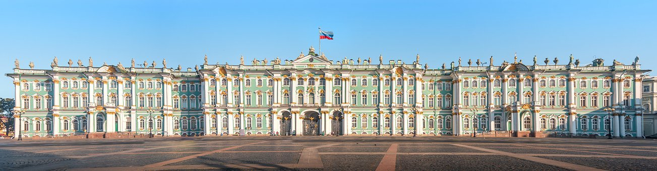 The Hermitage, Winter Palace, Hermitage, Russia