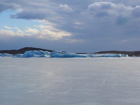 Ice Landscape, Icefall, Skaftafellsjökull, Glacier