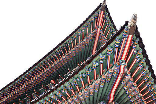 Gyeongbokgung Palace, Korea Palace, Roof