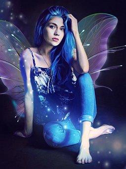 Fairy, Sparkle, Fantasy, Glitter, Magic, Girl, Light