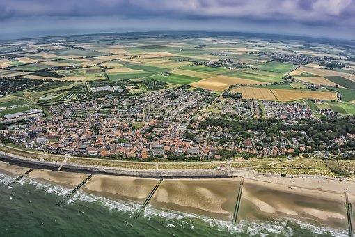 Zoutelande, Zeeland, Holland, Netherlands, Beach
