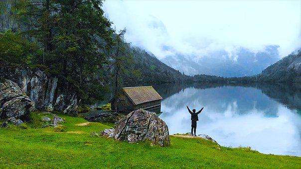 Austria, Obersee, New Unit, Walker, Travel, Explore