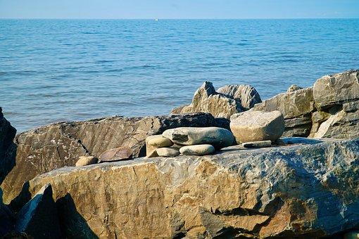 Ocean, Rocks, Sea, Water, Beach, Coast, Rock, Nature