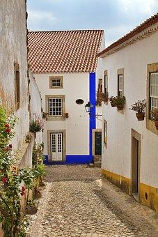 Portugal, Obidos, óbidos, Fortress, Castle