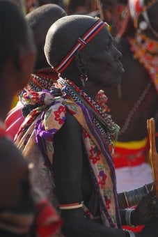 Samburu, Ceremony, Kenya, Africa, Wedding, Tribal