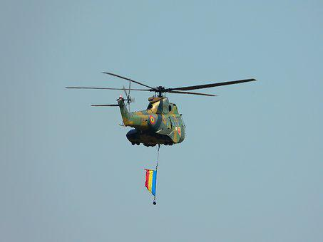Helicopter, Romania, Airshow, Air Show, Sky, Adrenaline