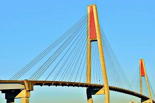 Suspension Bridge, Scenic, Landscape, Beauty