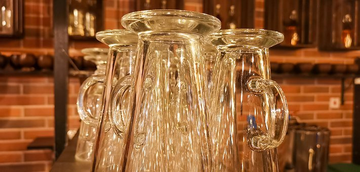 Glass, Table, Tableware, Wine, Crystal, Bottle, Jug