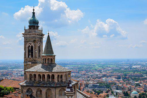 Bergamo, Italy, Panorama, The Club, Travel, City