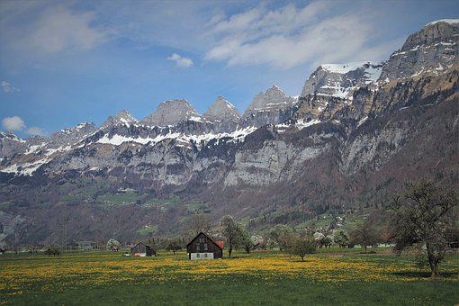 Tops, House In The Mountains, The Idyll, Mountains