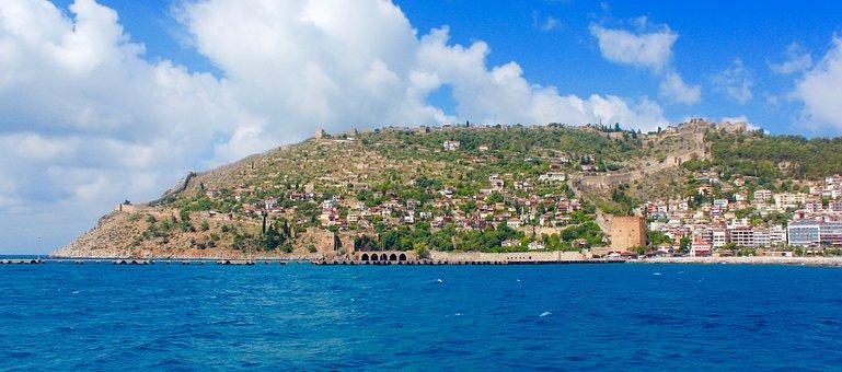 Alanya, Turkey, Holiday, View, Vacation, Travel, Castle