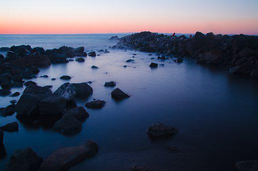 Europe, Italy, Fiumicino, Water, Mediterranean, Sky