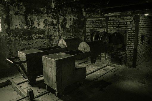 Auschwitz, Concentration Camp, Crematory, Crematorium