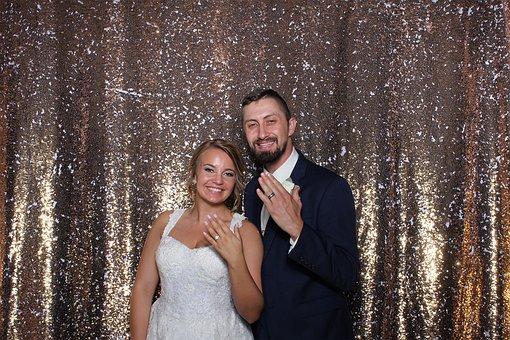 Wedding, Photo Booth, Girl, Bride, G, Woman, Dress