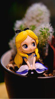 Q Posket, Toys, Shop, Cafe, Alice, Alice In Wonderland