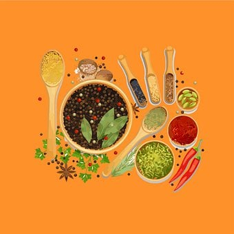 Garlic, Seasoning, Chilli