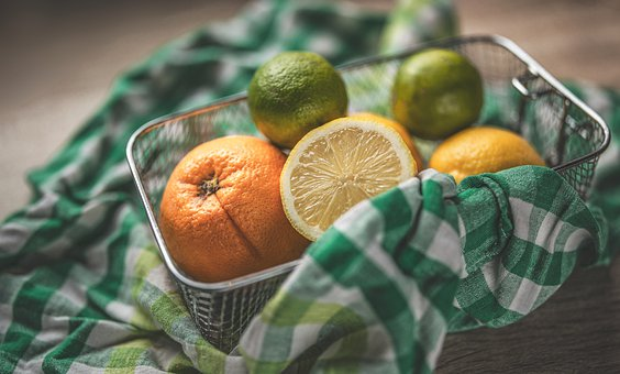 Lemon, Lime, Orange, Citrus, Fruit, Fresh, Green, Food