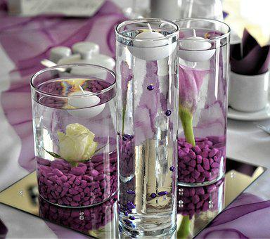 Festival, Celebration, Decoration, Wedding, Glasses